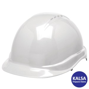 Elvex SC-50-6R White Tectra Safety Cap Non-Vented Head Protection