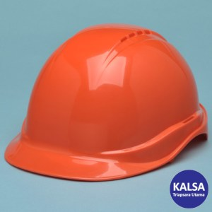 Elvex SC-50V-6R-ORG Orange Tectra Safety Cap Vented Head Protection