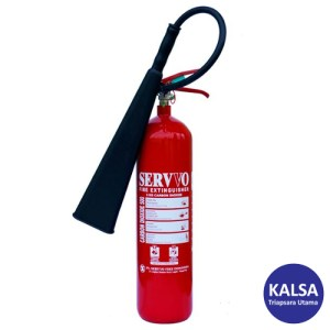Servvo C 500 CO2 BC Portable Carbon Dioxide O2 Fire Extinguisher