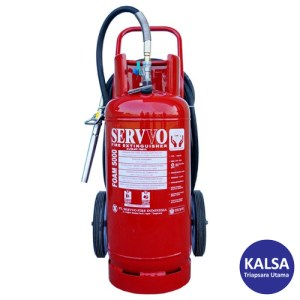 Servvo F 6000 AF3 AB Trolley Foam AFFF 6% Fire Extinguisher