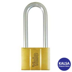 Yale V140.50LS65 V-Series Solid Brass Long Shackle 50 mm Security Padlock
