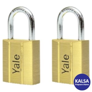 Yale V140.60KA2 V-Series Solid Brass Shackle 60 mm Security Padlock