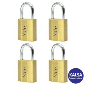 Yale V140.60KA4 V-Series Solid Brass Shackle 60 mm Security Padlock