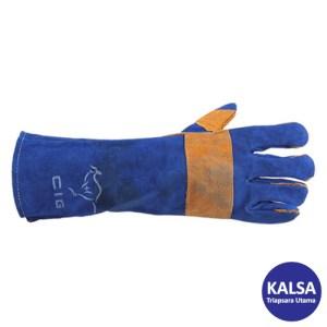 CIG 16CIG6530 Kevlar Blue Welding Hand Protection