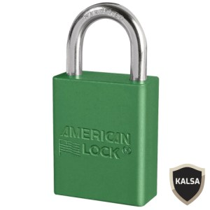 American Lock A1105GRN Safety Lockout Padlock
