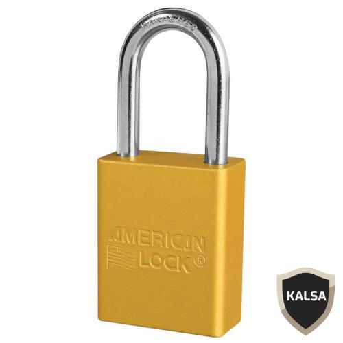 Distributor American Lock A1166YLW Safety Lockout Padlock, Jual American Lock A1166YLW Safety Lockout Padlock, Harga American Lock A1166YLW Safety Lockout Padlock