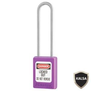 Master Lock S33LTPRP Keyed Different Zenex Snap Lock Safety Padlock