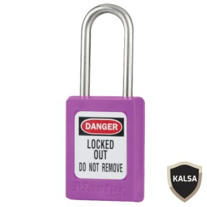 Master Lock S33MKPRP Master Keyed Zenex Snap Lock Safety Padlock
