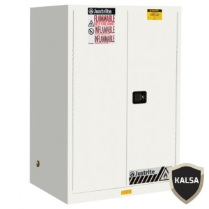 Justrite 899025 White Industrial Safety Cabinet