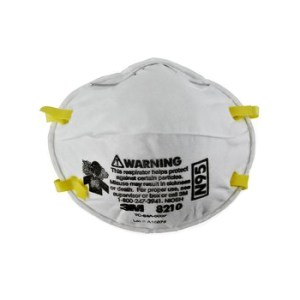 3M 8210 Cup Particulate Respiratory Protection