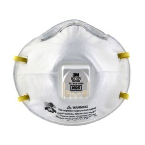 3M 8210V Cup Particulate Respiratory Protection