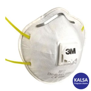 3M 8812 P1 Dust and Mist Valved Respiratory Protection