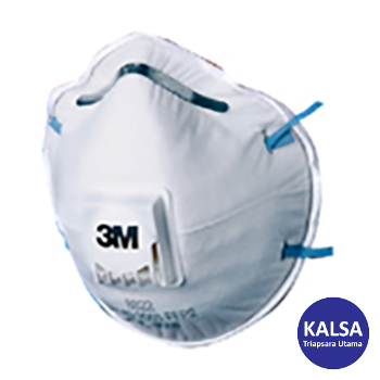 Distributor 3M 8822 P2 Dust and Mist Valved Respiratory Protection, Jual 3M 8822 P2 Dust and Mist Valved Respiratory Protection