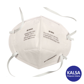 Distributor 3M 9004A 50 P1 Flat Folded Particulate Respiratory Protection, Jual 3M 9004A 50 P1 Flat Folded Particulate Respiratory Protection