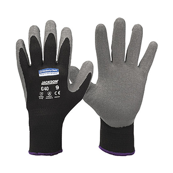 Distributor Kimberly Clark 97271 G40 Latex Coated Gloves size 8 (M), Distributor Safety Glove Latex Kimberly Clark 97271 G40 Latex Coated Gloves size 8 (M)