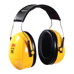 3M H9A Peltor Optime 98 Earmuffs Hearing Protection