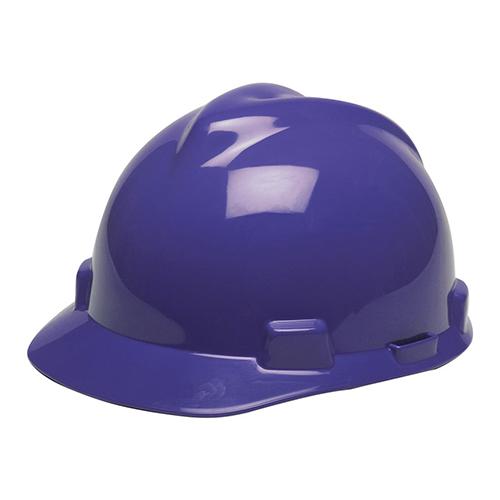 MSA Staz On V-Gard Caps Dark Blue