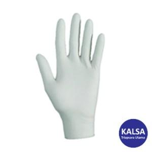 Kimberly Clark 38526 G10 Size L Kleenguard Flex White Nitrile Glove