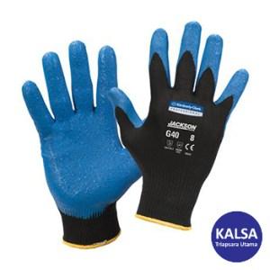 Kimberly Clark 40226 G40 Size M Jackson Safety Nitrile Foam Coated Glove