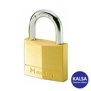 Master Lock 140EURT Solid Brass Padlocks Steel Shackle