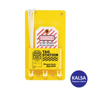 Master Lock S1601A Compact Tag Stations