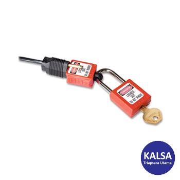 Distributor Master Lock S2005 Compct Plug Prong Lock Out, Distributor LOTO S2005 Compct Plug Prong Lock Out Master Lock