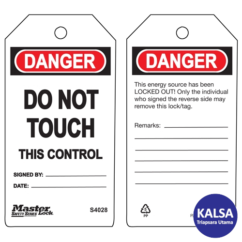 distributor master lock S4028, distributor safety tag S4028, jual Master Lock S4028, jual safety tag S4028, jual loto S4028, distributor loto S4028