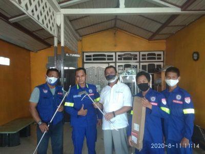 Balakar 545 Kapuas Rescue Satwa terima bantuan alat penangkap Ular
