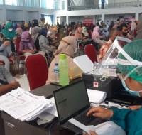 Vaksinasi massal di Kabupaten PPU melebihi target peserta