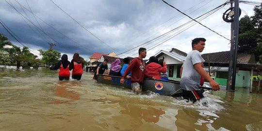 Ilustrasi banjir/ IST