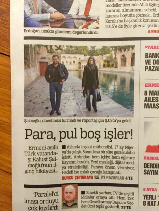 BURCU ÇETİNKAYA - 23 Kasım 2014 - Türkiye gazetesi - 002