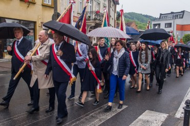 Uroczystości 228. rocznicy uchwalenia Konstytucji 3 Maja w Kalwarii Zebrzydowskiej - 3 maja 2019 r. fot. Andrzej Famielec, Kalwaria 24 IMGP7776