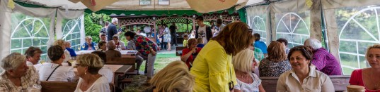 Ziemniak tani, smaczny, zdrowy - międzypokoleniowe spotkanie integracyjne w Lanckoronie - 18 lipca 2019 r. - fot. Kalwaria 24 IMGP1558-Pano