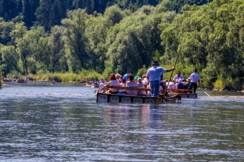 Spływ przełomem Dunajca - fot. Andrzej Famielec