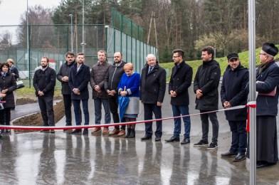 Otwarcie Skateparku w Kalwarii Zebrzydowskiej - 28 listopada 2019 r. - fot. Andrzej Famielec - Kalwaria 24 IMGP0410