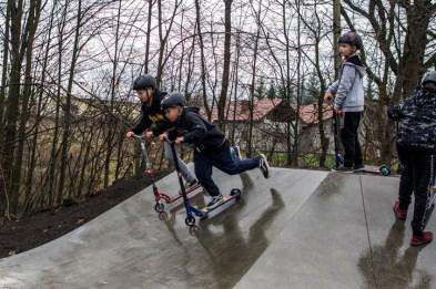 Otwarcie Skateparku w Kalwarii Zebrzydowskiej - 28 listopada 2019 r. - fot. Andrzej Famielec - Kalwaria 24 IMGP0444