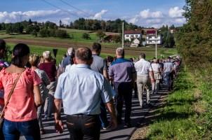 Coroczna Pielgrzymka na Kamionkę pod stary Krzyż Misyjny - Barwałd Dolny - 16.09.2018 r. - fot. Andrzej Famielec IMGP0658