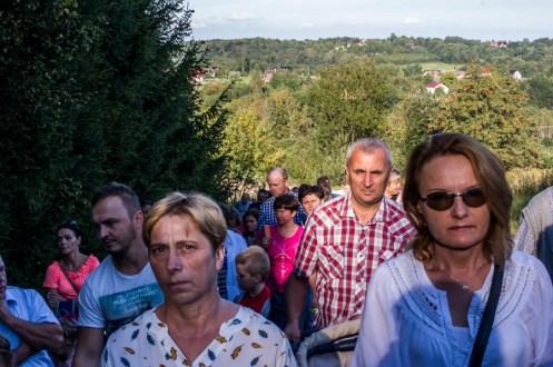 Coroczna Pielgrzymka na Kamionkę pod stary Krzyż Misyjny - Barwałd Dolny - 16.09.2018 r. - fot. Andrzej Famielec IMGP0716