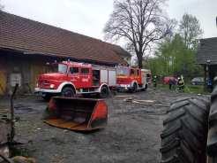 """Gminne ćwiczenia taktyczno- bojowe """"Konwent 2019"""" - fot. OSP Barwałd Górny"""