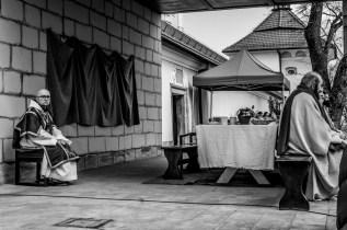 Misterium Męki Pańskiej w Kalwarii Zebrzydowskiej 2019 - Wielka Czwartek - 17 kwietnia 2019 r. fot. Andrzej Famielec, Kalwaria 24 IMGP6205