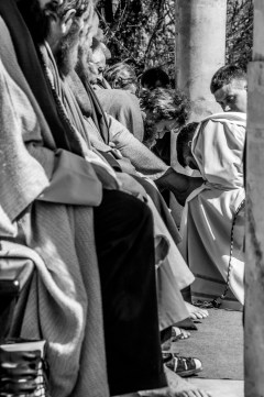 Misterium Męki Pańskiej w Kalwarii Zebrzydowskiej 2019 - Wielka Czwartek - 17 kwietnia 2019 r. fot. Andrzej Famielec, Kalwaria 24 IMGP6221