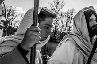 Misterium Męki Pańskiej w Kalwarii Zebrzydowskiej 2019 - Wielka Czwartek - 17 kwietnia 2019 r. fot. Andrzej Famielec, Kalwaria 24 IMGP6491
