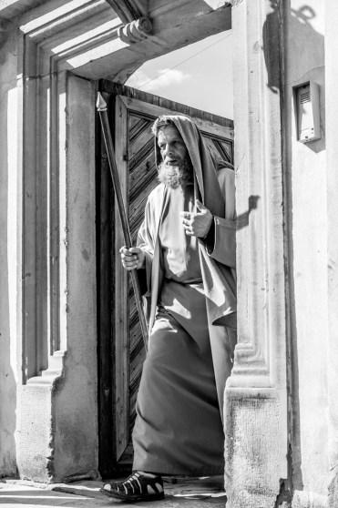 Misterium Męki Pańskiej w Kalwarii Zebrzydowskiej 2019 - Wielka Czwartek - 17 kwietnia 2019 r. fot. Andrzej Famielec, Kalwaria 24 IMGP6506
