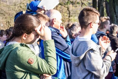 Misterium Męki Pańskiej w Kalwarii Zebrzydowskiej 2019 - Wielka Czwartek - 17 kwietnia 2019 r. fot. Andrzej Famielec, Kalwaria 24 IMGP6793