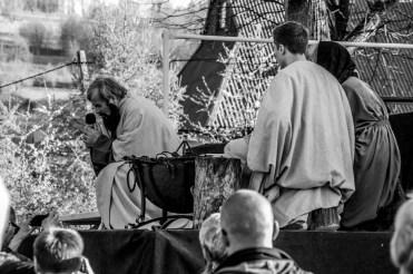 Misterium Męki Pańskiej w Kalwarii Zebrzydowskiej 2019 - Wielka Czwartek - 17 kwietnia 2019 r. fot. Andrzej Famielec, Kalwaria 24 IMGP6811