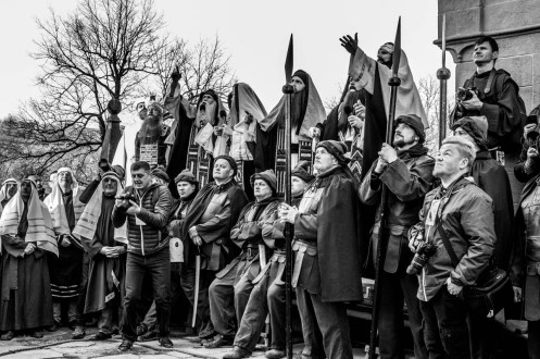 Misterium Męki Pańskiej w Kalwarii Zebrzydowskiej 2019 -Wielki Piątek - 19 kwietnia 2019 r. fot. Andrzej Famielec, Kalwaria 24 IMGP6968