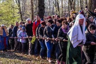 Misterium Męki Pańskiej w Kalwarii Zebrzydowskiej 2019 -Wielki Piątek - 19 kwietnia 2019 r. fot. Andrzej Famielec, Kalwaria 24 IMGP7008