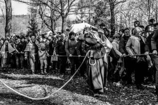 Misterium Męki Pańskiej w Kalwarii Zebrzydowskiej 2019 -Wielki Piątek - 19 kwietnia 2019 r. fot. Andrzej Famielec, Kalwaria 24 IMGP7063