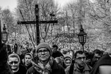 Misterium Męki Pańskiej w Kalwarii Zebrzydowskiej 2019 -Wielki Piątek - 19 kwietnia 2019 r. fot. Andrzej Famielec, Kalwaria 24 IMGP7079