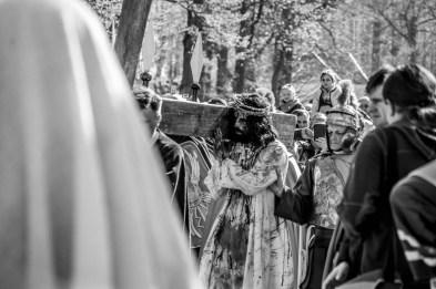 Misterium Męki Pańskiej w Kalwarii Zebrzydowskiej 2019 -Wielki Piątek - 19 kwietnia 2019 r. fot. Andrzej Famielec, Kalwaria 24 IMGP7233